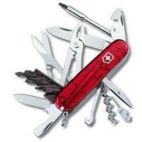 Нож Victorinox CyberTool полупрозрачный красный (34 предмета), фото