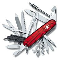 Нож Victorinox CyberTool полупрозрачный красный (41 предмет), фото