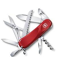 Нож Victorinox Delemont collection Evolution 17 на 15 предметов, фото