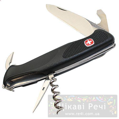 Армейский нож Wenger с клипсой  NewRanger модель 1.77.68.01, фото