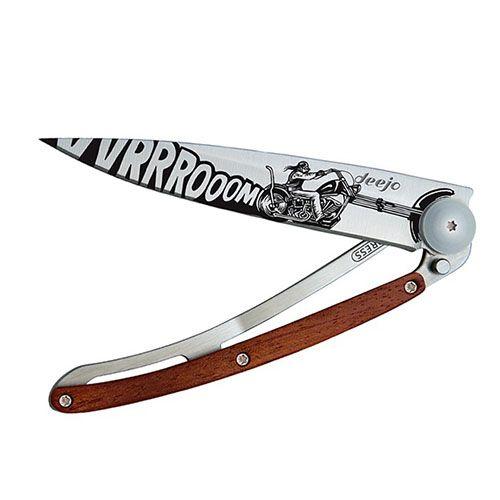 Нож Deejo Tattoo Rosewood Vroom, фото