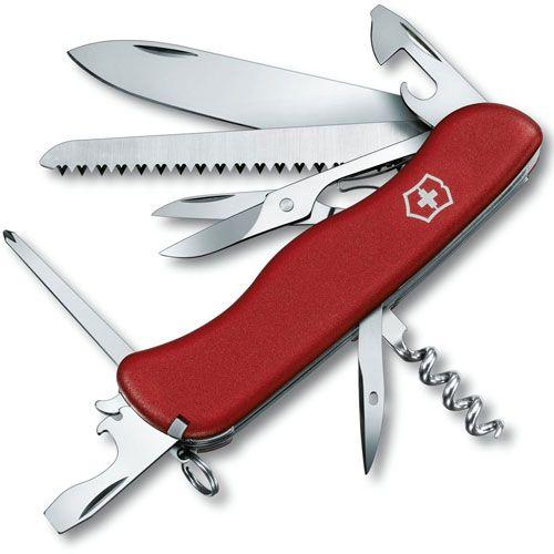 Нож Victorinox Outrider красный (14 предметов), фото