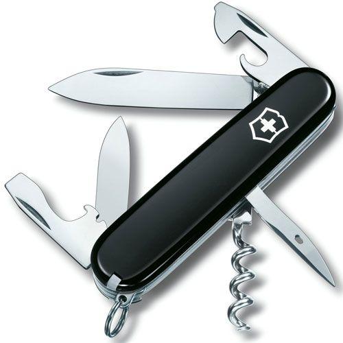 Нож Victorinox Spartan черный (12 предметов), фото