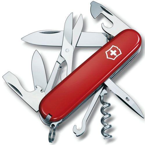 Нож Victorinox Climber красный (14 предметов), фото