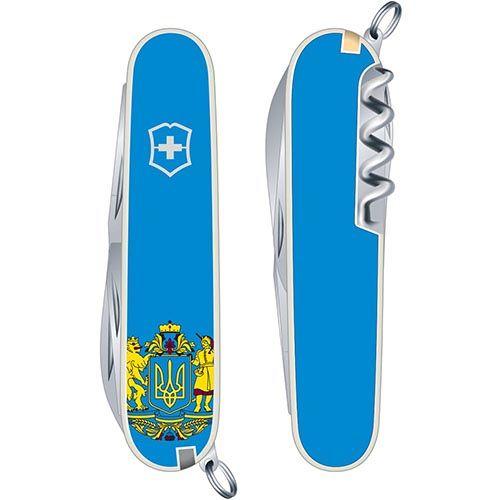 Нож Victorinox Huntsman UKRAINE  (10 предметов), фото