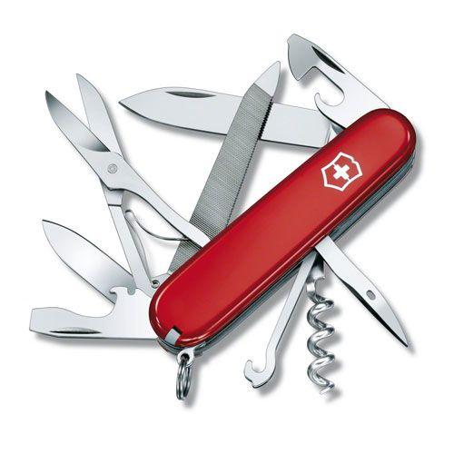 Нож Victorinox Mountainer красный (18 предметов), фото