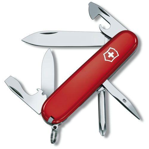 Нож Victorinox Tinker красный (12 предметов), фото