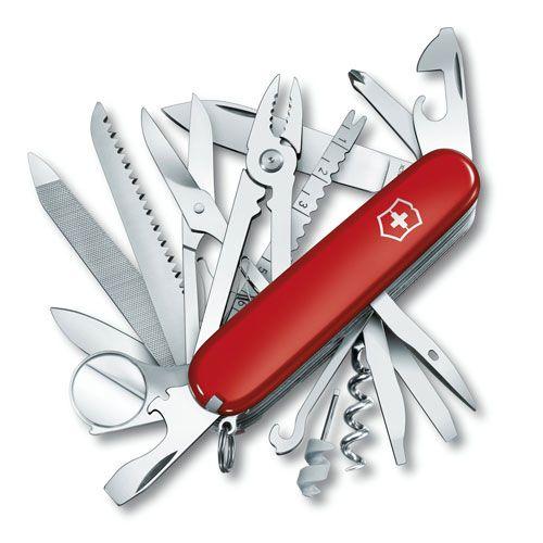 Нож Victorinox SwissChamp красный (33 предмета), фото