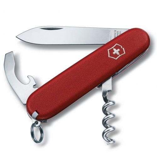 Нож Victorinox Pocket Knife красный (9 предметов), фото