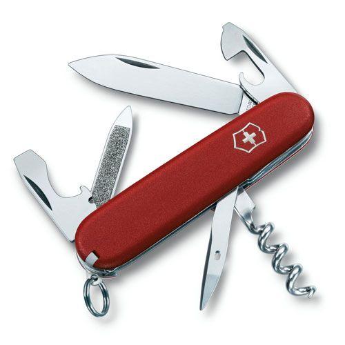 Нож Victorinox EcoLine Sportsman красный (13 предметов), фото