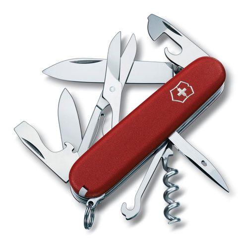 Нож Victorinox EcoLine Climber красный (14 предметов), фото