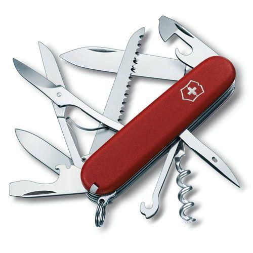 Нож Victorinox EcoLine Huntsman красный (15 предметов), фото
