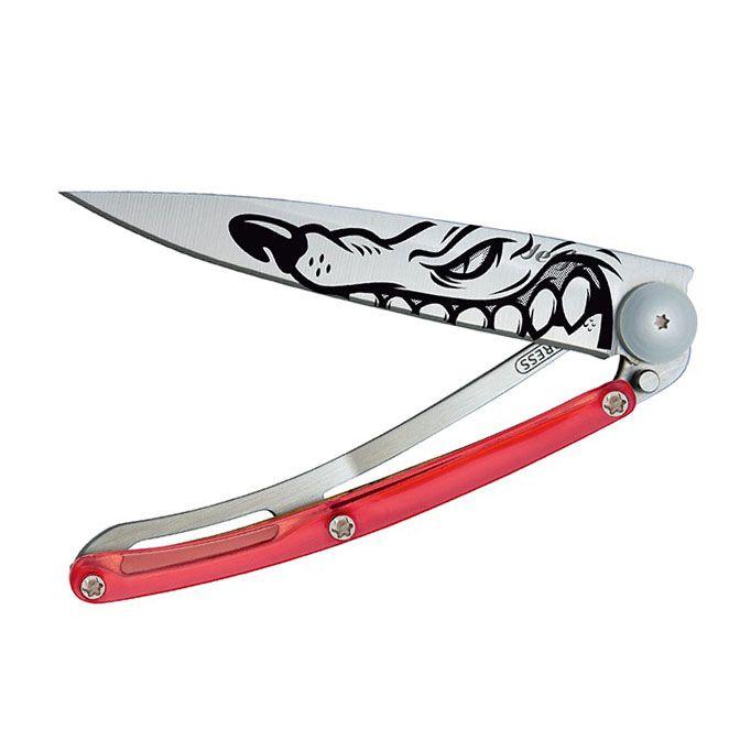 Нож Deejo Tattoo red Winter