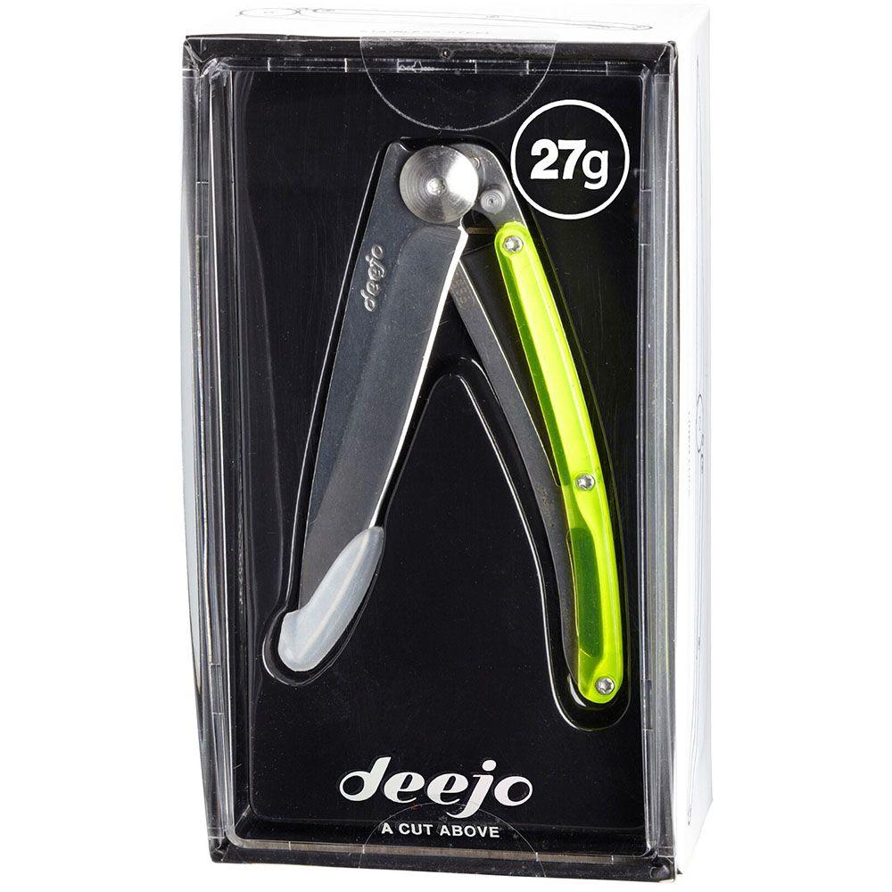 Нож Deejo Colors yellow