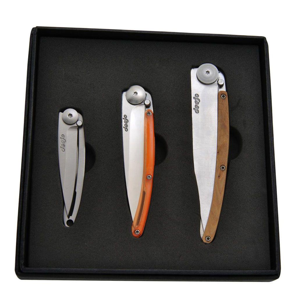 Набор из 3 ножей Deejo Touch and Feel