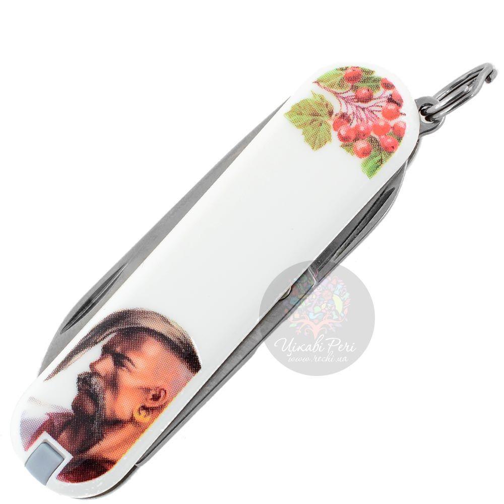 Нож Victorinox Swiss Army CLASSIC SD UKRAINE Козак на 7 предметов