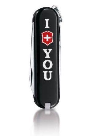 Нож Victorinox Classic The Gift черный (7 предметов) лимитированная серия