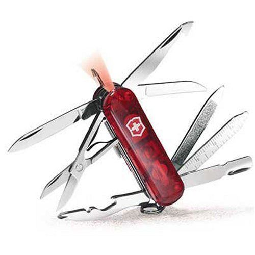 Нож Victorinox Midnite Minichamp красный (16 предметов)
