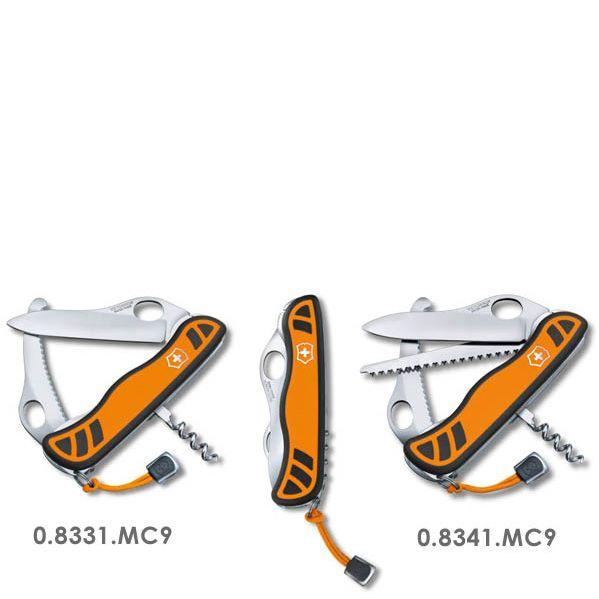 Нож Victorinox Hunter XS 111 мм оранжево-черный с 3 инструментами