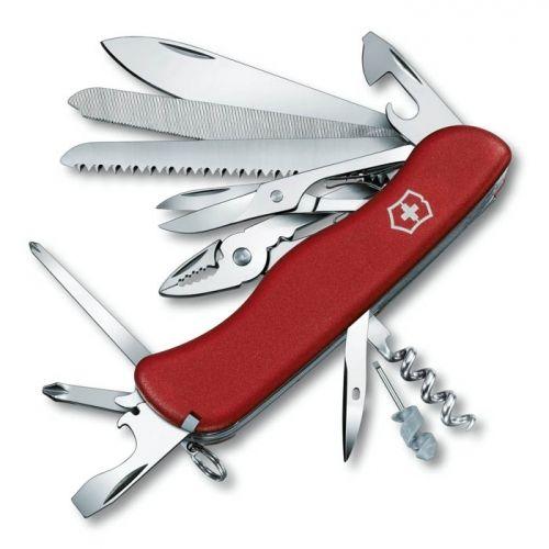 Нож Victorinox WorkChamp красный (21 предмет)
