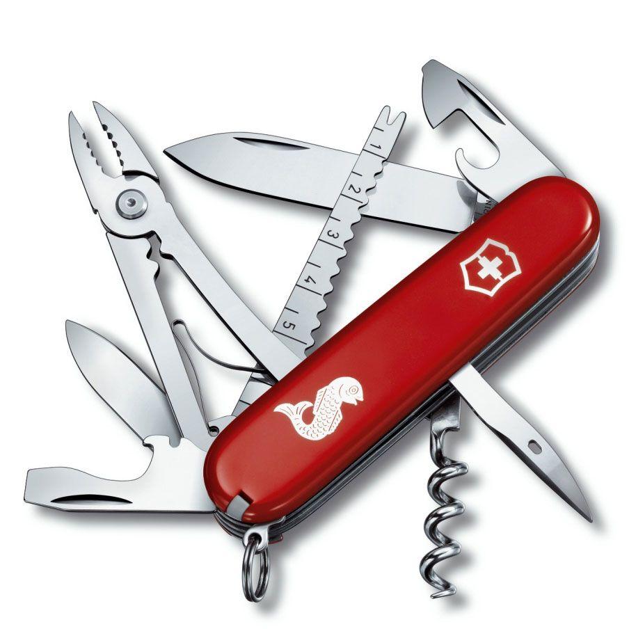 Нож Victorinox Angler красный (18 предметов)