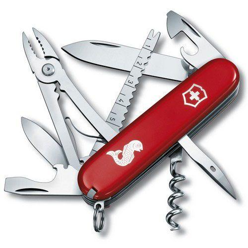 Нож Victorinox Fisherman красный (17 предметов)