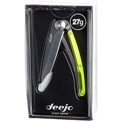 Нож Deejo Colors yellow, фото