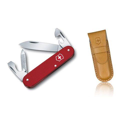 Нож Victorinox Cadet красный (9 предметов), фото