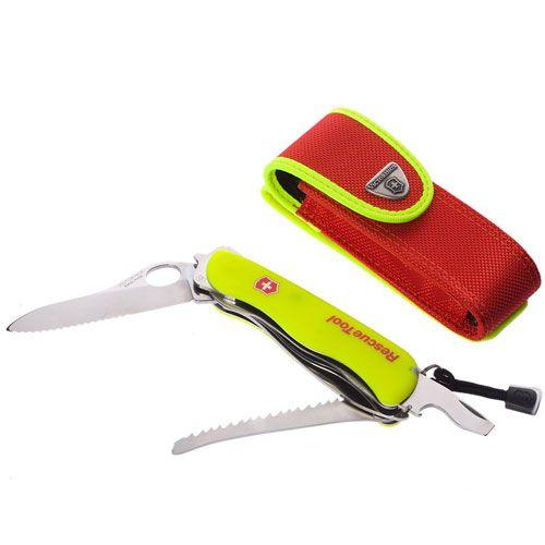 Нож Victorinox Rescue Tool желтый (16 предметов), фото