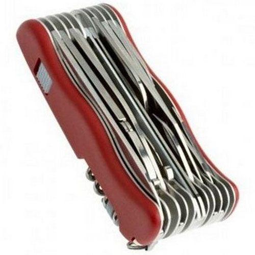 Нож Victorinox WorkChamp красный (30 предметов), фото