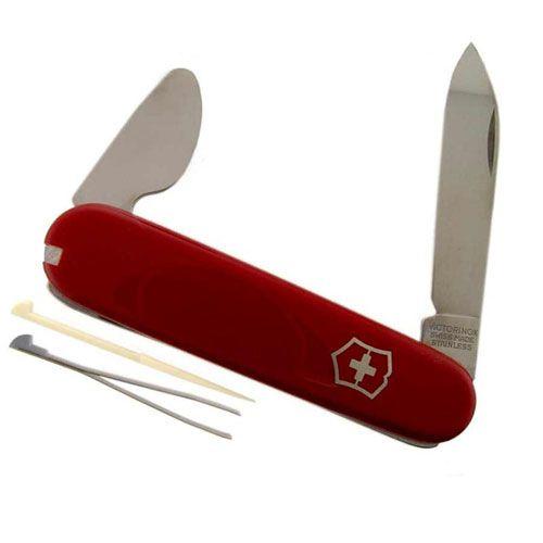 Нож Victorinox Watch Opener красный (4 предмета), фото