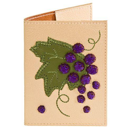 Обложка для паспорта Unique U Виноград, фото