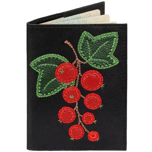 Обложка для паспорта Unique U Красная смородина, фото