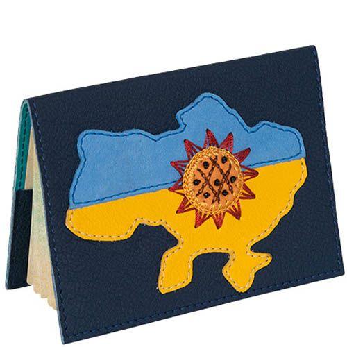Обложка для паспорта Unique U Украина и подсолнух, фото