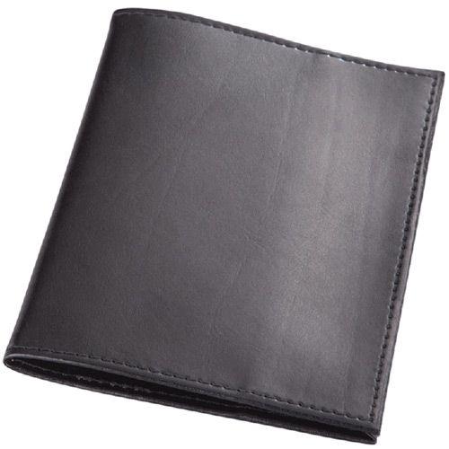 Обложка для паспорта Avanzo Daziaro Business Linea из черной кожи, фото