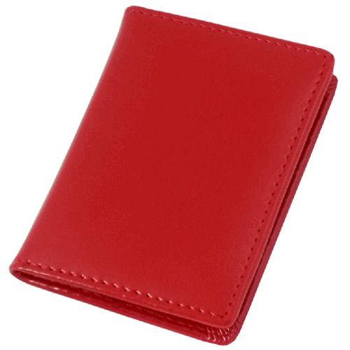 Обложка для паспорта Avanzo Daziaro Business Linea из красной кожи, фото
