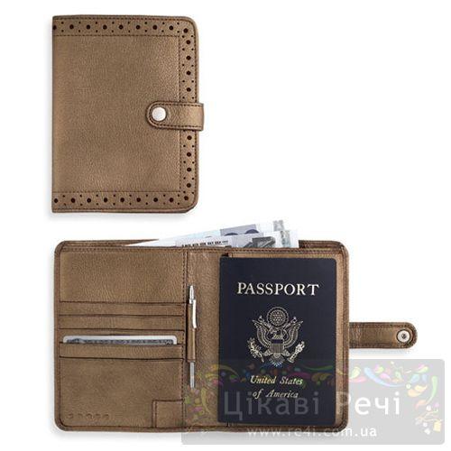 Обложка для паспорта Autocross с ручкой и отделением для купюр, фото