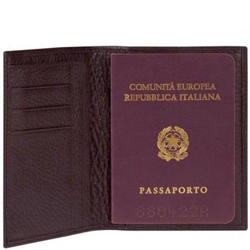 Обложка для паспорта Modus из натуральной кожи , фото