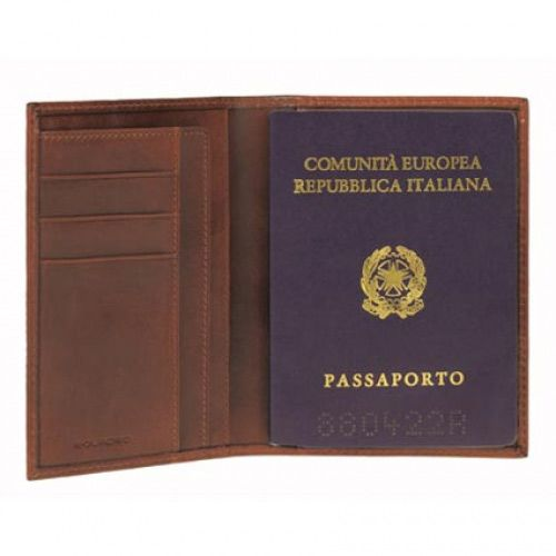 Обложка для паспорта Piquadro Tamponato, фото