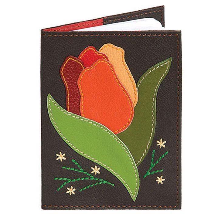 Обложка Unique U Тюльпан для паспорта