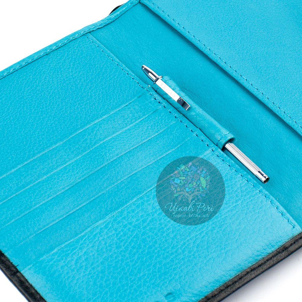 Обложка для паспорта Autocross на кнопке с мини-ручкой