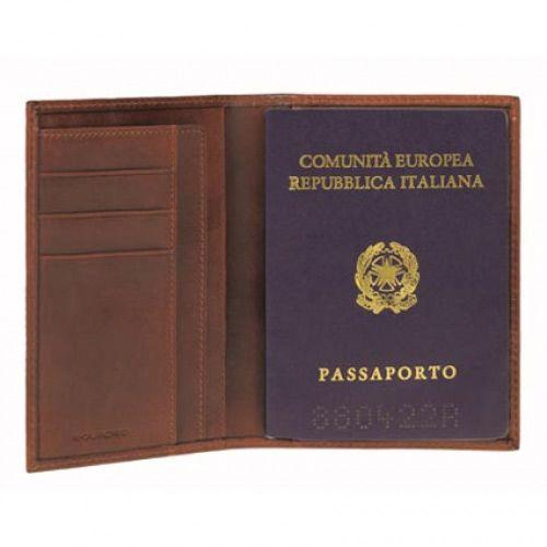 Обложка для паспорта Piquadro Tamponato