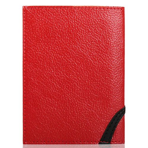Обложка для паспорта Unique U красного цвета Японская птичка, фото