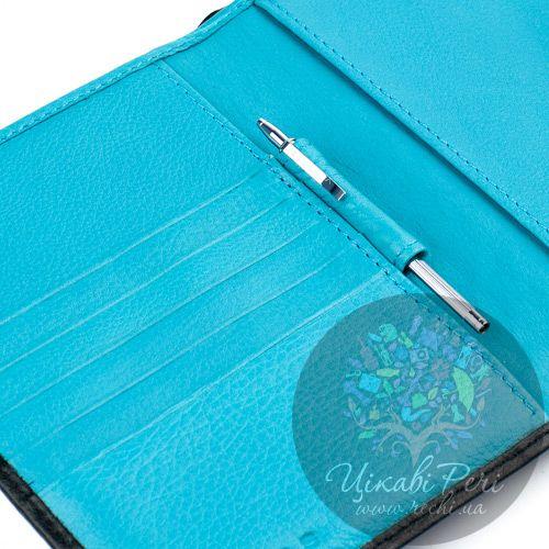 Обложка для паспорта Autocross на кнопке с мини-ручкой, фото