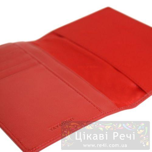 Обложка для паспорта Tavecchi Polo Red, фото