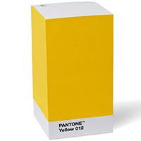 Блок для записей Pantone Yellow 012, фото