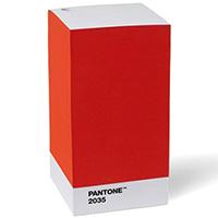 Стопка стикеров Pantone Red 2035, фото