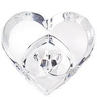 Хрустальное пресс-папье Baccarat Три любящих сердца, фото