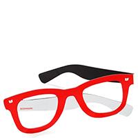 Красная закладка для книги Donkey в виде очков, фото