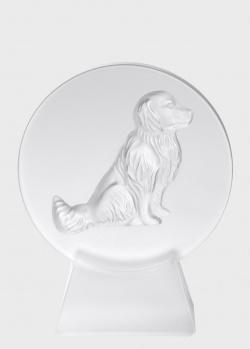 Пресс-папье Lalique Dog из хрусталя, фото